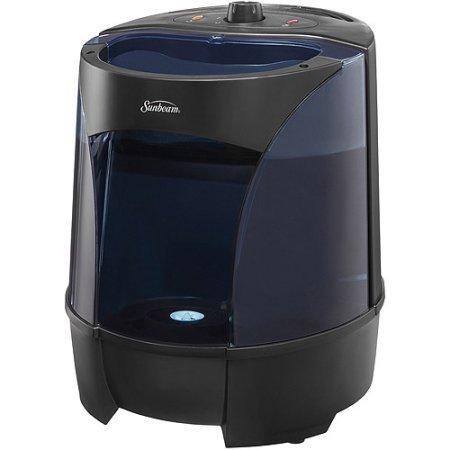 Sunbeam Warm Mist Humidifier SWM6000-BWM, Black (Warm Humidifier Sunbeam)