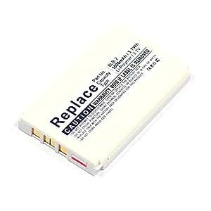 subtel® Batería premium para Nokia 8210 / 8310 / 8850 / 8890 / 5210 / 6510 / 7650 / 3610 (1000mAh) BLB-2 bateria de repuesto, Smartphone pila reemplazo, sustitución