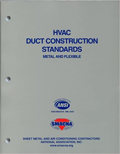 Hvac Duct Construction Standards Metal And Flexible 3rd Edition Pdf