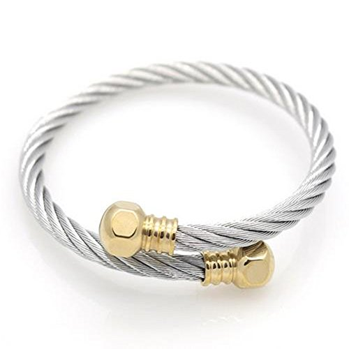 Koolemon Titanium Stainless Bracelets Bangles