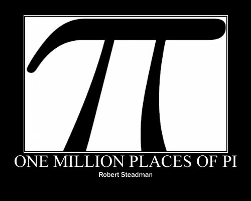 One Million Places of Pi