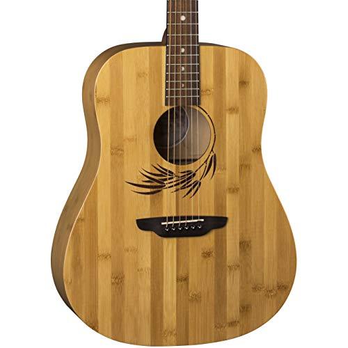 Luna Dreadnought Acoustic Guitar, Woodland Bamboo ()