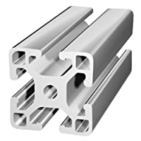 80/20 Inc., 40-4040-Lite, 40 Series, 40mm x 40mm Lite T-Slotted Extrusion x 2440mm by 80/20 Inc.