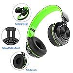 Cuffie-Bluetooth-Senza-Fili-Alitoo-Wireless-Cuffie-Over-Ear-con-Microfono-Pieghevole-Stereo-Headphones-Cancellazione-Del-Rumore-Compatibile-con-SmartphoneAndroidPCTVMP3-NeroVerde