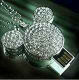 New Mickey Mouse Usb Flash Drive 4 GB -Necklace
