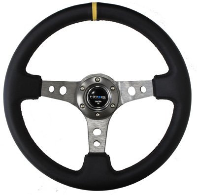 NRG Innovations ST-006R-GM-Y 350mm Sport Steering Wheel (3