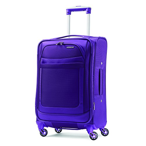 American Tourister Ilite Max Softside Spinner 25, Purple American Tourister Ilite Luggage