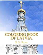 Coloring Book of Latvia.