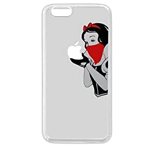 "Onelee Customized White Soft Rubber(TPU) Disney Cartoon Snow White iPhone 6 Plus Case, Only fit iPhone 6+ 5.5"" by icecream design"