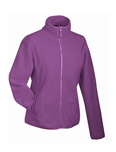 Chaqueta Mujer en Microfleece Purple