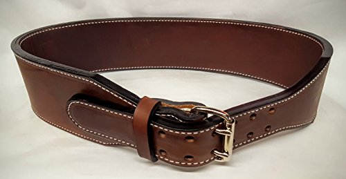 X Heavy duty Back Support or Weight Lifting Leather Belts by Leather Belts USA, LLC