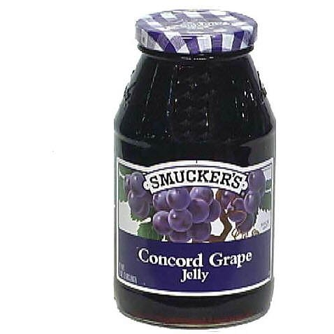 Ingredients Grape Jelly (Smucker's Concord Grape Jelly, 32 oz (2 lbs) 907)