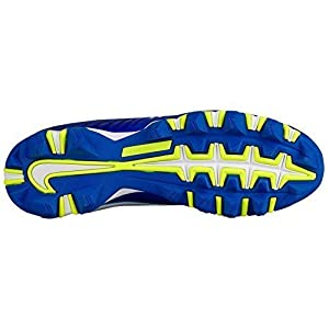NIKE Mens Vapor Shark 2 Football Cleat Blue/Black Size 11.5 D(M) US