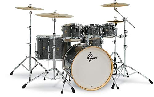 Gretsch Drums Catalina Maple Shell Pack - 7-pc - Black Stardust