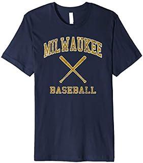 Vintage Milwaukee Baseball | Brewer Baseball Retro Gift Premium T-shirt | Size S - 5XL