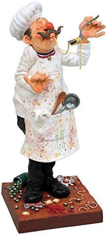 Guillermo Forchino The FO84000 Figure The Cook, Resin, Multi-Colour, 20 x 10 x 24 cm