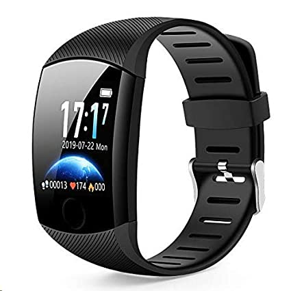 Smart Watch,Bluetooth Smartwatch Fitness Tracker Watch with Pedometer Heart Rate Monitor Sleep Tracker,Waterproof Smart Watch Compatible iPhone iOS ...
