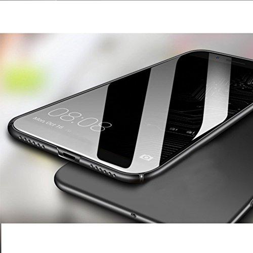 SMTR Samsung Galaxy A8 2018 Funda, Calidad Premium Cubierta Delgado Caso de PC Hard Gel Funda Protective Case Cover para Samsung Galaxy A8 2018 -Oro rosa Azul
