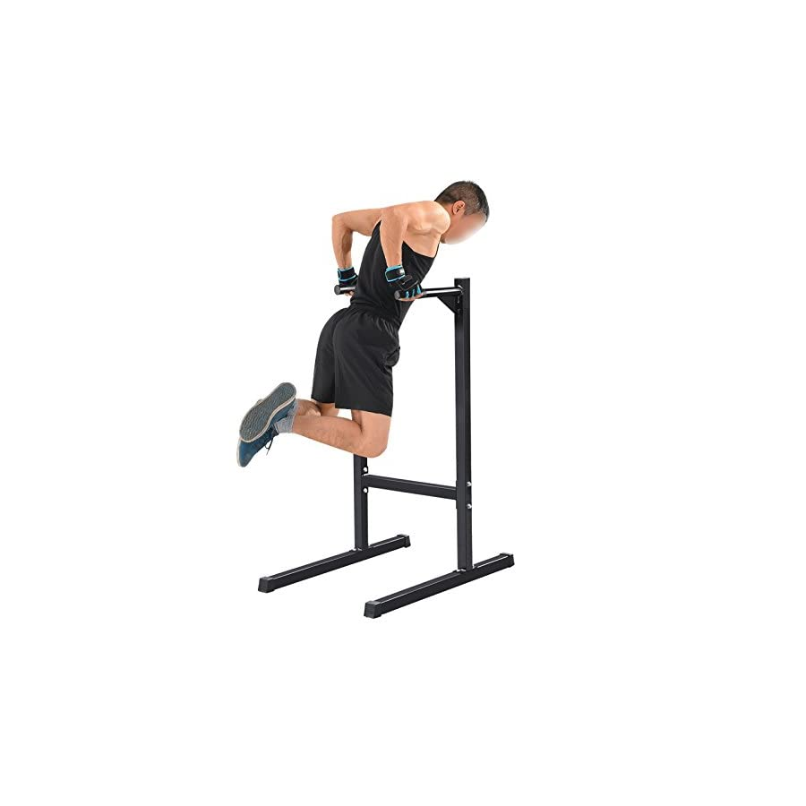 Dip Station Pull Push Up Stand Dip Bar Fitness Exercise Workout 500 LB