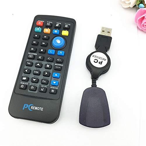 Artshu IR Wireless Controller PC Computer Remote Control USB Media Center Fly Mouse & USB Receiver for Windows 7 XP Vista Hot