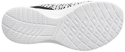 Casual Shoe Women's White Black Dynamight Skechers Fleetly t0HBxTg