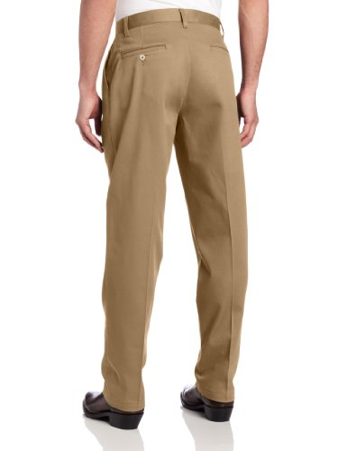 eed2aa47 Wrangler Men's Riata Pleated Relaxed Fit Casual Pant, Goldenrod, 36x34