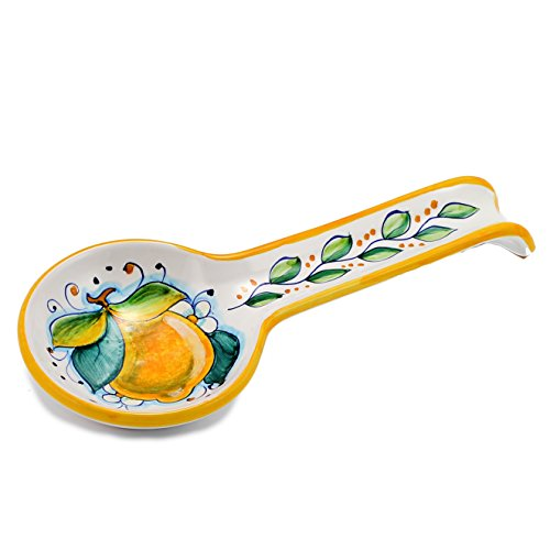 DERUTA: Spoon rest LEMON (also wall hung) [#7010/C-SEG] by DERUTA Collection