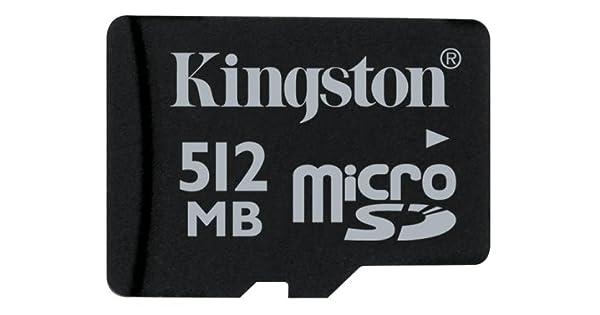 Amazon.com: Kingston 512 MB de tarjeta de memoria microSD ...