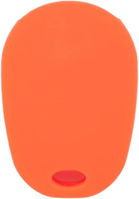 SEGADEN Silicone Cover Protector Case Skin Jacket fit for TOYOTA Sienna 4+1 Button 5 Buttons Remote Key Fob CV4423 Orange