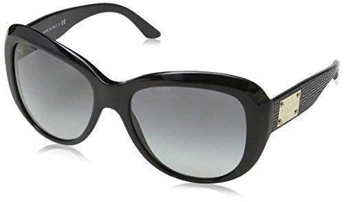 Versace Lunettes de soleil 4285 Pour Femme Transparent Fuchsia / Brown To Violet Noir (Onyx GB1/11)