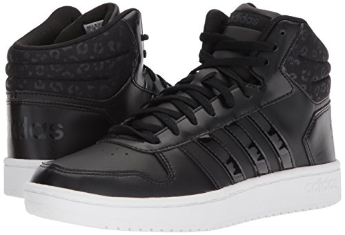 adidas Women's VS Hoops Mid 2.0 W, Core Black/Core Black/Carbon, 5 M US