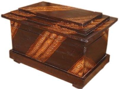 Madera – Baúl de Bonita, H 45 cm, B 63 cm, T 43 cm: Amazon.es: Hogar