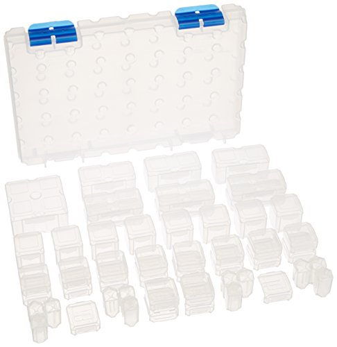 Cottage Mills Dot Box Storage System 53-Piece, Medium, 11-Inch by, 7-Inch by (Dot Box)