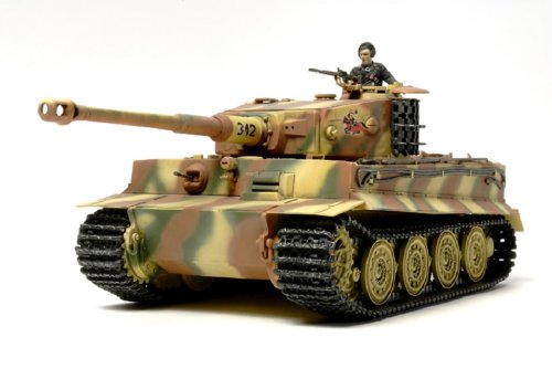 (Tamiya Models TM32575 German Tiger I Late Production)