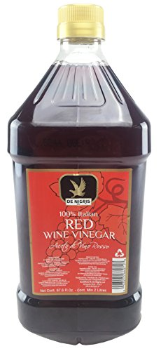 De Nigris Red Wine Vinegar 100% Italian 67.6 Fl Oz