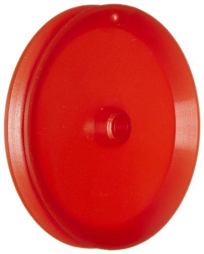 Ajax Scientific Plastic Loose Pulley, 50mm Diameter, 4mm Center Hole Diameter (Pack of 10) ()