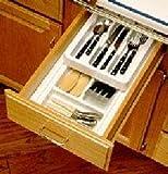 Rev-A-Shelf Rolling Cutlery Tray Insert half tray 11-3/4