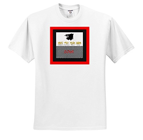 galleon 3drose chinese new year image of dramatic border black and white checkerboard new year t shirts youth t shirt xs2 4 ts_262611_11