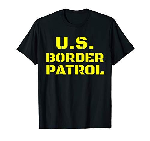 Border Patrol costume US customs and border