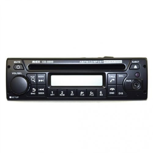 All States Ag Parts REI Radio CD-5000 AM/FM/CD/MP3/WB/PA Stereo Bluetooth