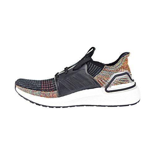 adidas Men's Ultraboost 19, grey/black/shock yellow, 8 M US ()