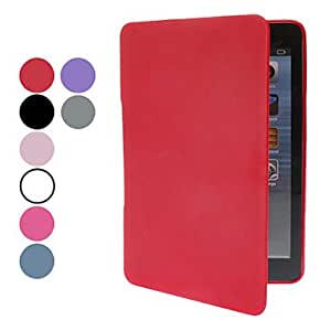 get Solid Color TPU Material Full Body Case with Stand for iPad mini (Assorted Colors) , Rose