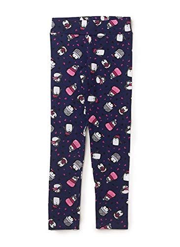 Legging Cotton Estampado Marinho