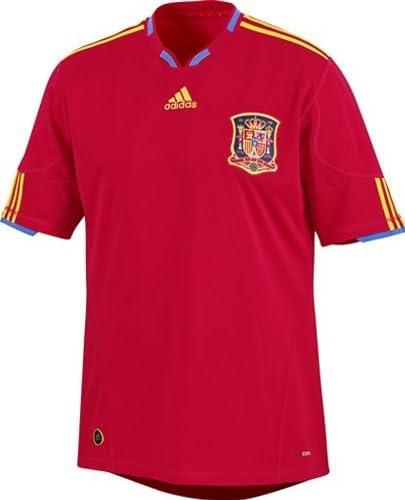 adidas – Camiseta de fútbol selección España FEF Away hogar Junior Rojo/Oro, fútbol, Niño, Color Rojo/Dorado, tamaño 8 años: Amazon.es: Ropa y accesorios