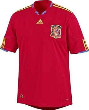 adidas - Camiseta de fútbol selección España FEF away hogar Junior rojo/oro, fútbol, Niño, color Rojo/dorado, tamaño 14 años: Amazon.es: Deportes y aire ...