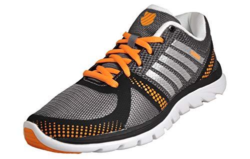K-Swiss, Sneaker Uomo Grigio Grey, Grigio (Grey), 40 EU