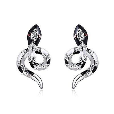 top Black snake earrings for women