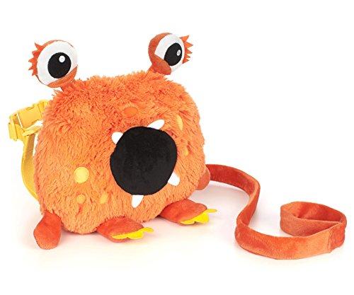 Nuby Monster Backpack Harness Orange