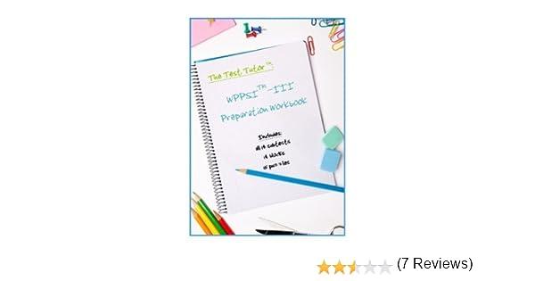 The Test Tutor: WPPSI-III Preparation Kit: Test Tutor Publishing ...