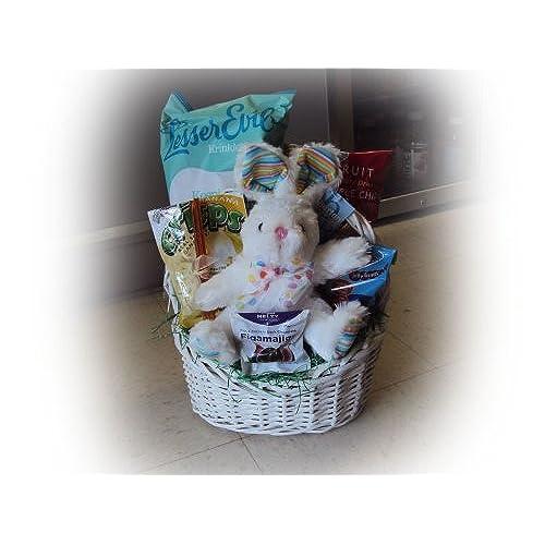 Toddler gift basket amazon healthy easter basket for children bunny love negle Images